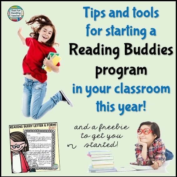 Tips for starting a Reading Buddies program in your classroom